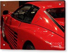 1986 Ferrari Testarossa - 5d20030 Acrylic Print by Home Decor
