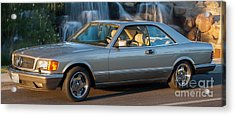 1986 Mercedes 560 Sec Acrylic Print