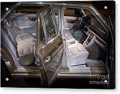 1990 Mercedes Sel Interior Acrylic Print