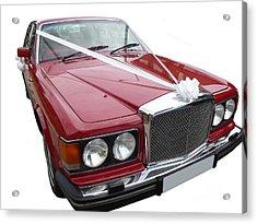 1997 Bentley Turbo R Acrylic Print