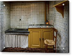 Acrylic Print featuring the photograph 19th Century Kitchen In Amsterdam by RicardMN Photography