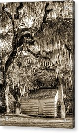 19th Century Slave House Acrylic Print
