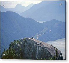 1m2918 South Summit Stawamus Chief From Second Summit Acrylic Print