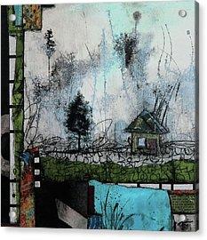 1tree, 1home By The Lake Acrylic Print