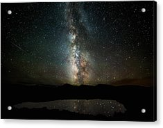 2 1/2 Mile High Milky Way Acrylic Print by Darren White
