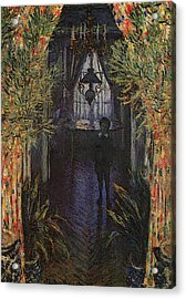 A Corner Of The Apartment Acrylic Print by Claude Monet