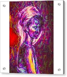 A Model #art #fineart Acrylic Print
