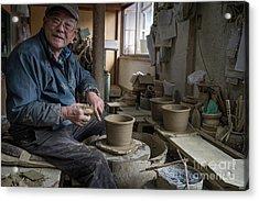 A Village Pottery Studio, Japan Acrylic Print