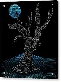 Abstract Gnarly Tree Acrylic Print