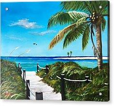 Access To The Beach Acrylic Print