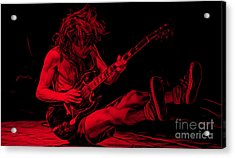 Acdc Collection Acrylic Print by Marvin Blaine