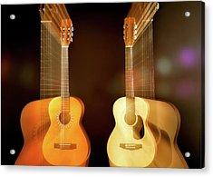 Acoustic Overtone Acrylic Print by Leland D Howard