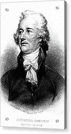 Alexander Hamilton Acrylic Print by John Trumbull