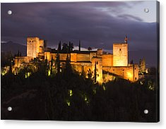 Alhambra Acrylic Print by Andre Goncalves