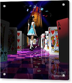Alice In Wonderland Acrylic Print by Oleksiy Maksymenko