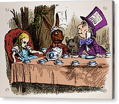 Alice In Wonderland Acrylic Print