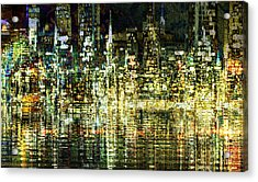 All That Glitters Acrylic Print