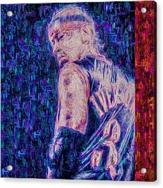 Allen Iverson Ai The Answer Acrylic Print