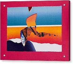 Angel Flight Acrylic Print by Richard Knox