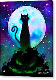 Another Spooky Night Acrylic Print