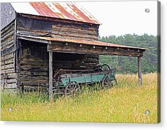 Another Time Acrylic Print by Suzanne Gaff