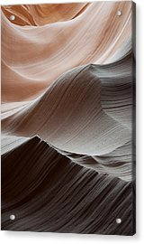 Antelope Canyon Desert Abstract Acrylic Print