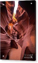 Antelope Canyon Acrylic Print by JR Photography
