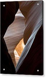 Antelope Canyon Acrylic Print by Mike Irwin