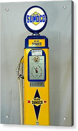 Antique Gas Pump Acrylic Print