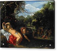 Apollo And Coronis Acrylic Print