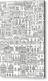 Arabesque Acrylic Print