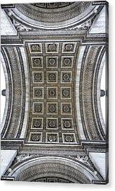 Arc De Triomphe Detail Acrylic Print