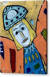 Archangel Zadkiel Acrylic Print
