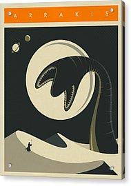 Arrakis Travel Poster  Acrylic Print