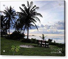 Asan Beach Guam Acrylic Print