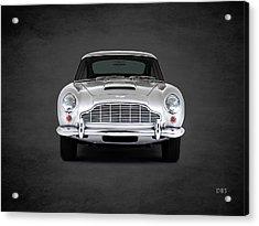 Aston Martin Db5 Acrylic Print by Mark Rogan