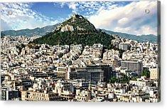Athens Panorama Acrylic Print