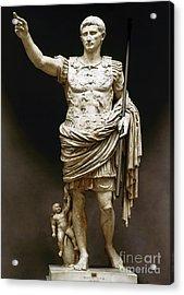 Augustus (63 B.c.-14 A.d.) Acrylic Print by Granger