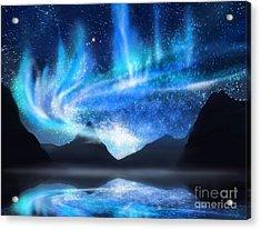 Aurora Borealis Acrylic Print by Setsiri Silapasuwanchai