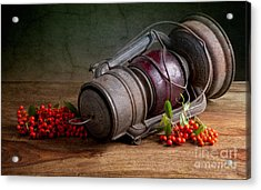 Autumn Still Life Acrylic Print by Nailia Schwarz