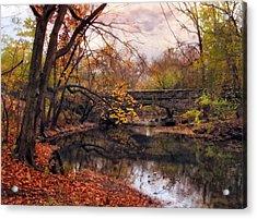 Autumn's Ending Acrylic Print by Jessica Jenney