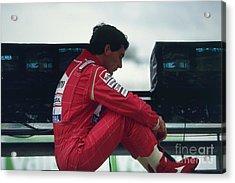 Ayrton Senna. 1992 French Grand Prix Acrylic Print