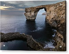 Azure Window - Gozo Acrylic Print by Joana Kruse