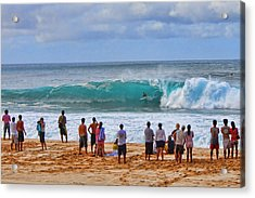 Backdoor Bomb Acrylic Print by Brian Governale