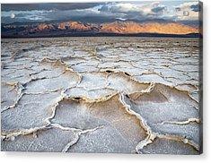 Badwater Sunrise Acrylic Print