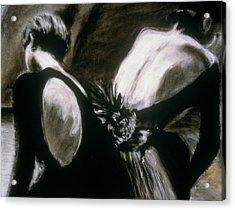 2 Ballerinas Acrylic Print