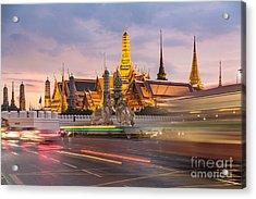 Bangkok Wat Phra Keaw Acrylic Print