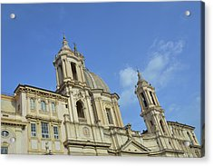 Baroque Church Acrylic Print by JAMART Photography