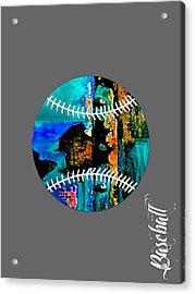 Baseball Collection Acrylic Print by Marvin Blaine