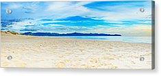 Beach Panorama Acrylic Print by MotHaiBaPhoto Prints